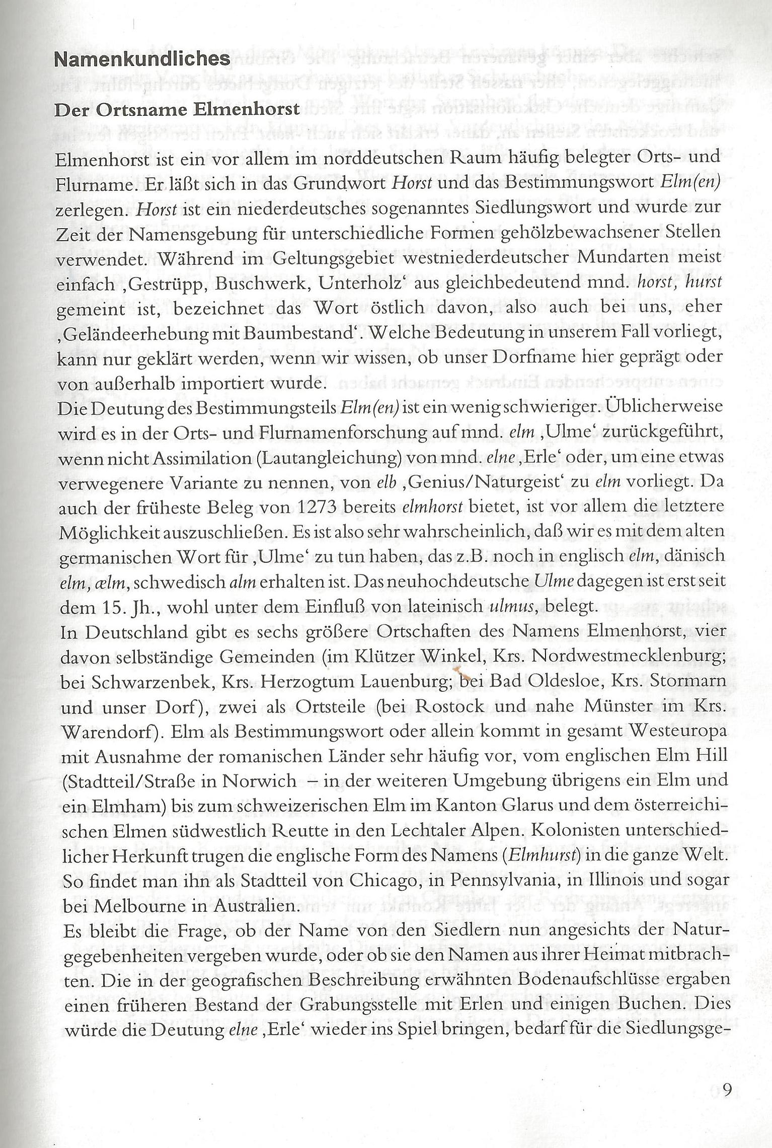 Namenkundliches (Seiten 009 - 015)