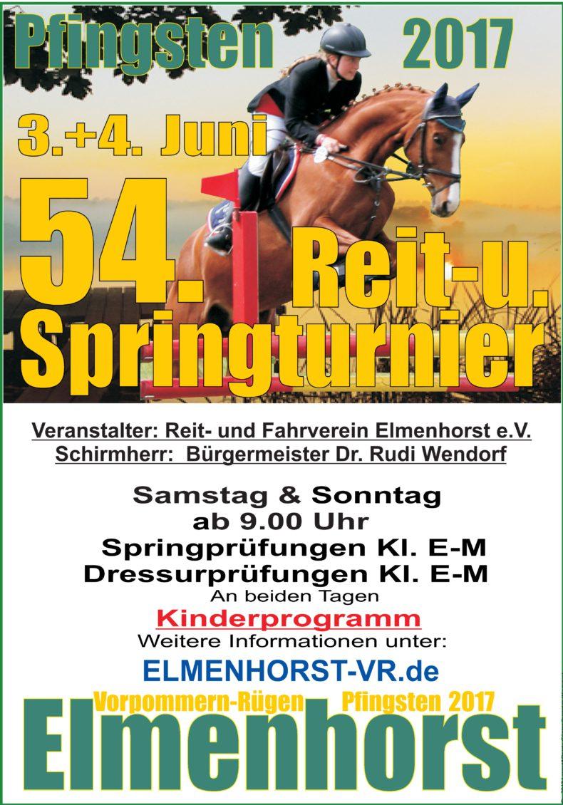 NEWS – 2017_06 Reit- und Springturnier