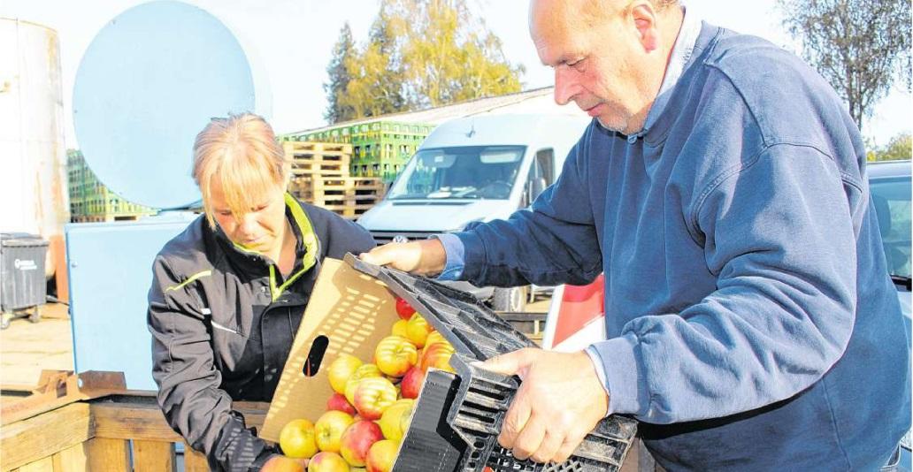 OZ berichtete – Biete Früchte, suche Säfte