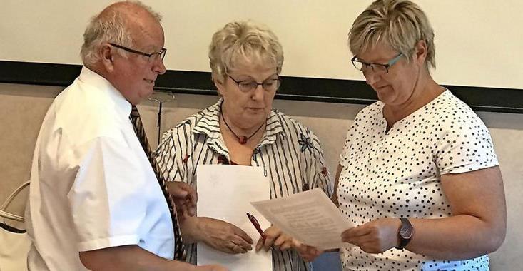 OZ berichtete – Neuhoferin Elke Lück ist neue Chefin im Amt Miltzow