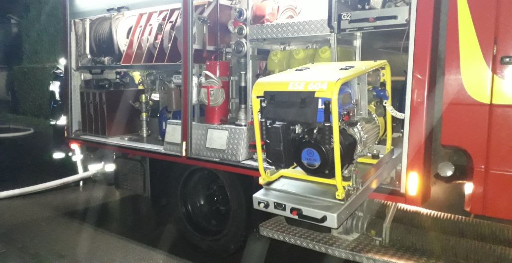 Einsatzübung der Freiwilligen Feuerwehren Elmenhorst und Zarrendorf