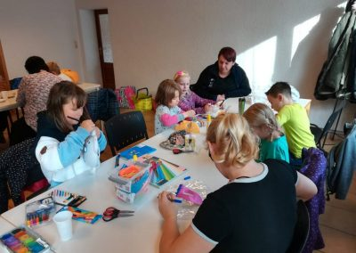NEWS - 2019_11 - Kinderbasteln vor dem Oktoberfeuer in Elmenhorst 2