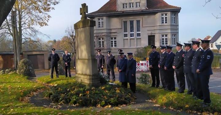 Volkstrauertag 2019 in der Gemeinde Elmenhorst
