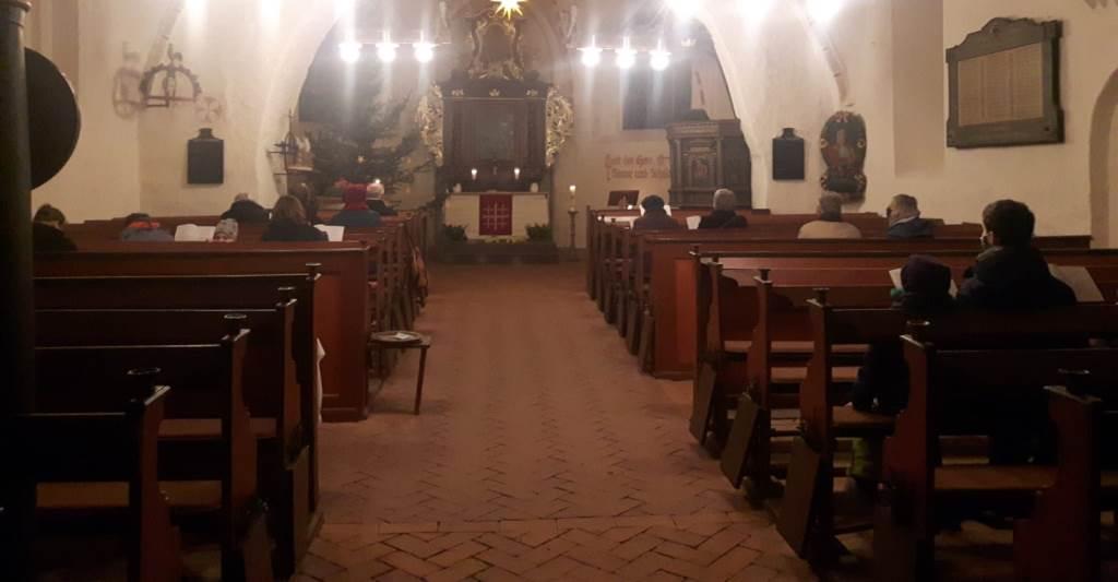 Adventsandacht mit musikalischer Begleitung  in Elmenhorst